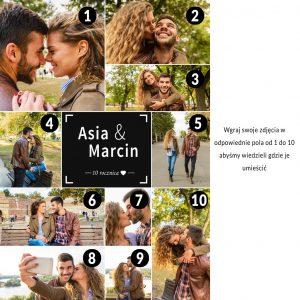 Dodaj 10 zdjęć do kolażu ze zdjęć PicArta