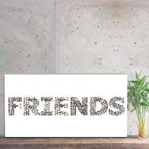 kolaż ze zdjęć friends
