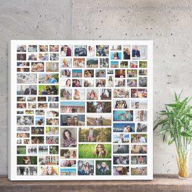 kolaż zdjęć galeria wspomnień