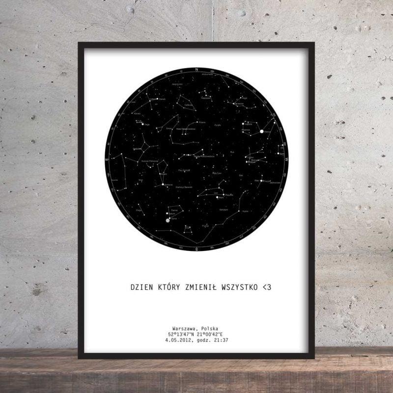 Mapa gwiazd plakat PicArta