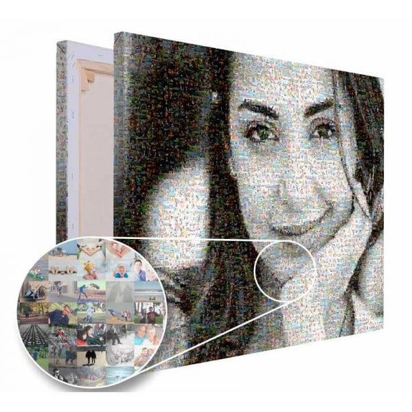 Mozaika ze zdjęć prezent dla przyjaciółki PicArta