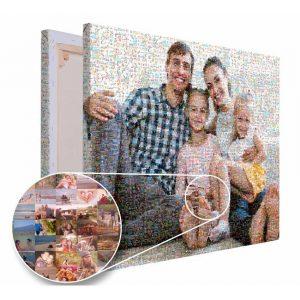 Mozaika ze zdjęć prezent na rocznice ślubu PicArta