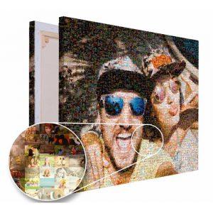 Mozaika ze zdjęć prezent na urodziny PicArta