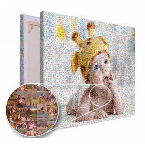 Mozaika ze zdjęć prezent na urodziny dziecka PicArta