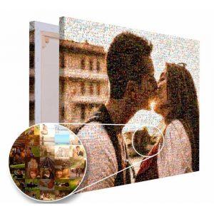 Mozaika ze zdjęć prezent na urodziny dla niego PicArta