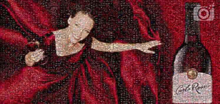 Wideo mozaika ze zdjęć dla firm Carlo Rossi PicArta