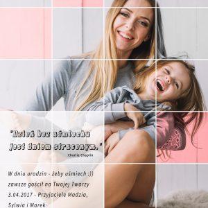 Minimalistyczny kolaż ze zdjęcia PicArta