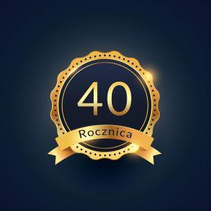 Prezent na 40 rocznicę ślubu