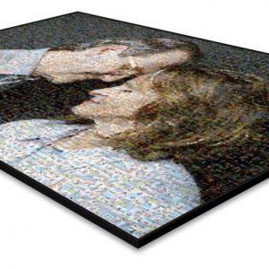 Mozaika ze zdjęć na papierze fotograficznym