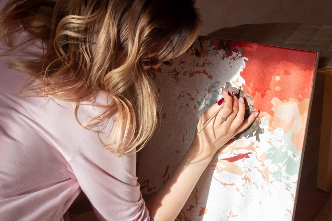 Zalety malowania po numerach