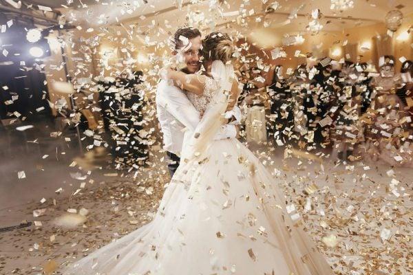 Kolaż ze zdjęć na rocznicę ślubu