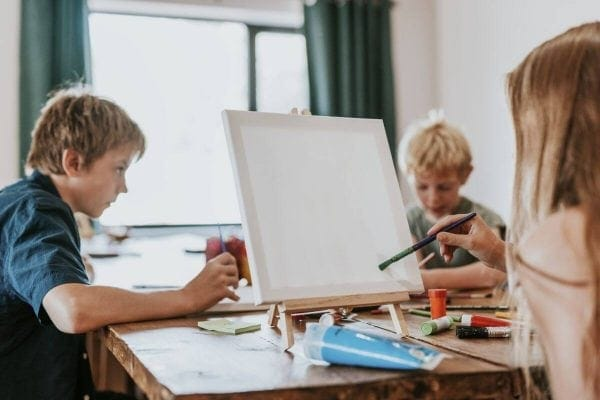 Malowanie po numerach dla dzieci - czy to trudne